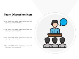Team Discussion Icon