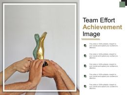 Team Effort Achievement Image