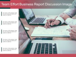 Team Effort Business Report Discussion Image