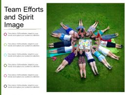 Team Efforts And Spirit Image
