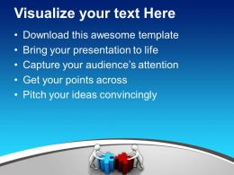Team Efforts To Form Solution Business Powerpoint Templates Ppt Backgrounds For Slides 0113