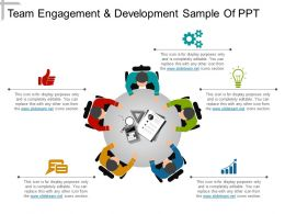 Team Engagement And Development Sample Of Ppt