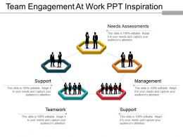 Team Engagement At Work Ppt Inspiration