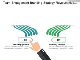 Team Engagement Branding Strategy Revolutionize Business Organizational Development Cpb