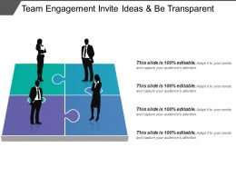 Team Engagement Invite Ideas And Be Transparent