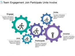 Team Engagement Join Participate Unite Involve