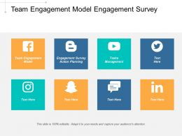 Team Engagement Model Engagement Survey Action Planning Tasks Management Cpb