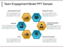 Team Engagement Model Ppt Sample