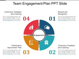 Team Engagement Plan Ppt Slide