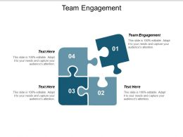 Team Engagement Ppt Powerpoint Presentation Gallery Picture Cpb