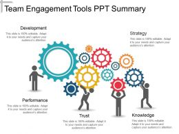 Team Engagement Tools Ppt Summary