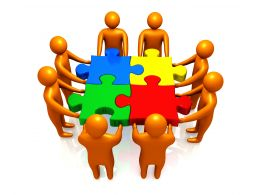 team_fixing_puzzle_for_problem_solving_stock_photo_Slide01