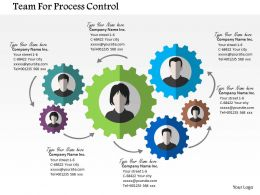 Team For Process Control Flat Powerpoint Design