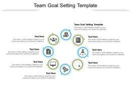 Team Goal Setting Template Ppt Powerpoint Presentation Ideas Graphics Tutorials Cpb