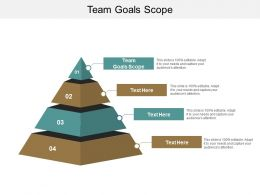 Team Goals Scope Ppt Powerpoint Presentation Slides Files Cpb