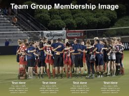 Team Group Membership Image