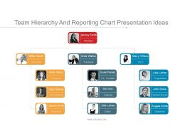 team_hierarchy_and_reporting_chart_presentation_ideas_Slide01