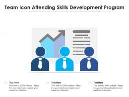 Team Icon Attending Skills Development Program