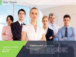 Team Infographics For Introduction Powerpoint Slides