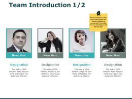 Team Introduction Planning I243 Ppt Powerpoint Presentation File Pictures