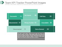 Team Kpi Tracker Powerpoint Images