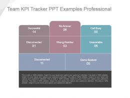 Team Kpi Tracker Ppt Examples Professional