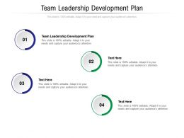 Team Leadership Development Plan Ppt Powerpoint Presentation Gallery Backgrounds Cpb