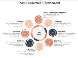 Team Leadership Development Ppt Powerpoint Presentation Icon Styles Cpb