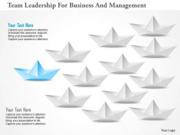 Team Leadership For Business And Management Powerpoint Templates