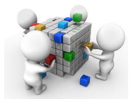 team_making_cube_shows_teamwork_stock_photo_Slide01