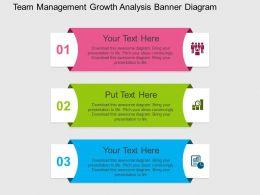 team_management_growth_analysis_banner_diagram_flat_powerpoint_design_Slide01