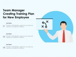 Team Manager Creating Training Plan For New Employee