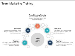 Team Marketing Training Ppt Powerpoint Presentation Gallery Smartart Cpb