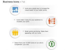 Team Meeting Organizational Chart Teamwork Process Control Ppt Icons Graphics