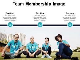 Team Membership Image
