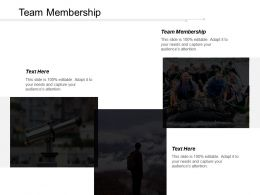 Team Membership Ppt Powerpoint Presentation Icon Display Cpb