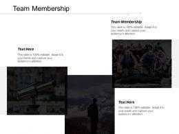 Team Membership Ppt Powerpoint Presentation Icon Display Cpb
