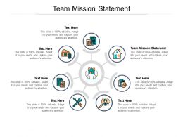 Team Mission Statement Ppt Powerpoint Presentation Styles Background Images Cpb