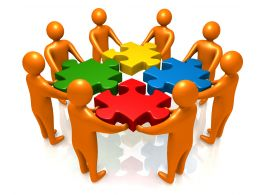 team_of_business_people_with_problem_puzzles_stock_photo_Slide01