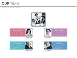 Team Of Expert For Business Strategies Powerpoint Slides