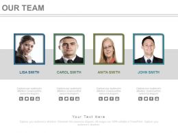 Team Of Professionals For Business Strategy Management Powerpoint Slides