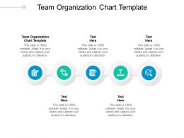 Team Organization Chart Template Ppt Powerpoint Presentation Slides Ideas Cpb