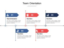 Team Orientation Ppt Powerpoint Presentation Infographic Template Microsoft Cpb