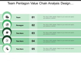 Team Pentagon Value Chain Analysis Design Implementation