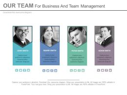 Team Peoples For Business And Team Management Powerpoint Slides