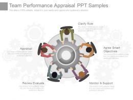 Team Performance Appraisal Ppt Samples