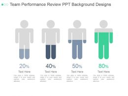 Team Performance Review Ppt Background Designs