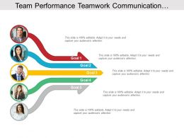 Team Performance Teamwork Communication Collaborative Five Arrows