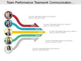 Team Performance Teamwork Communication Collaborative Five Arrows