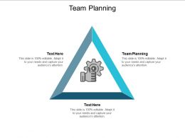 Team Planning Ppt Powerpoint Presentation Styles Ideas Cpb
